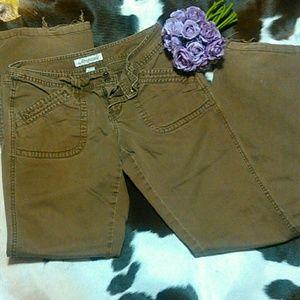 6 for 20 sale Brown aero jeans, longs!!